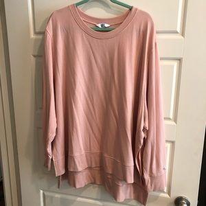 Like new Target JoyLab pink sweatshirt 4x
